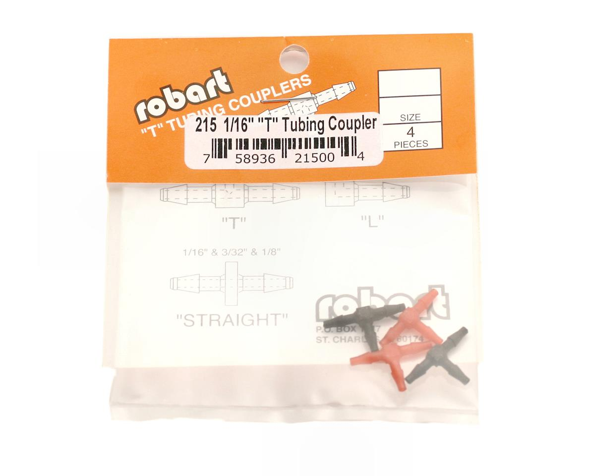"Robart ""T"" Tubing Couplers (1/16"")"