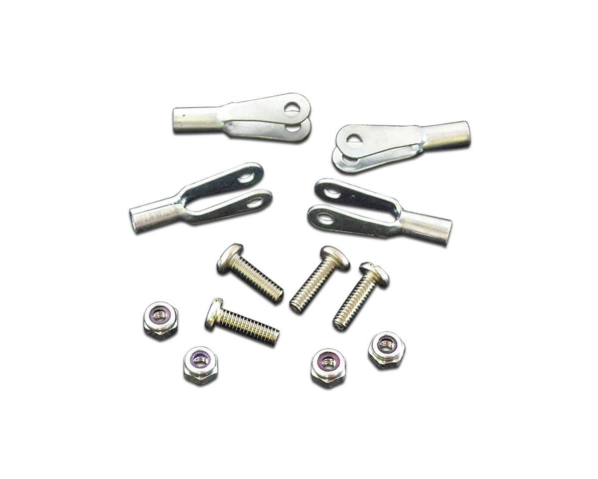 Robart 2-56 Rod Ends w/Screws & Nuts