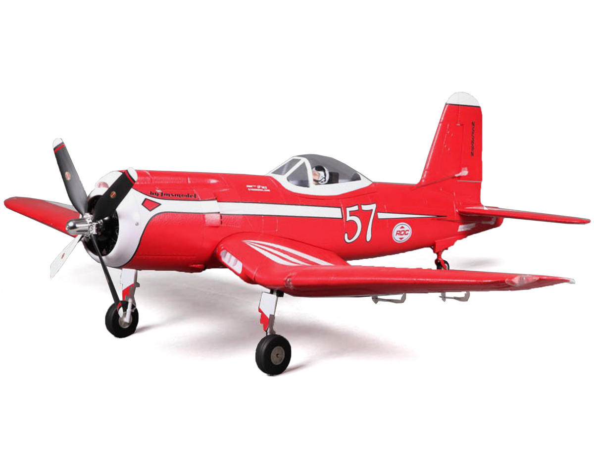 RocHobby F2G Super Corsair High-Speed Plug-N-Play Electric Airplane (1100mm)