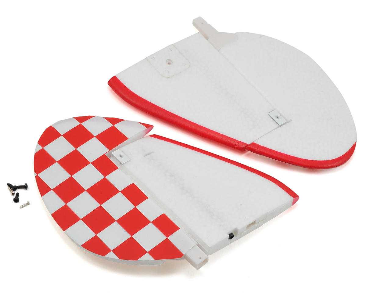 RocHobby F-16 Falcon Waco Horizontal Stabilizer (Red)