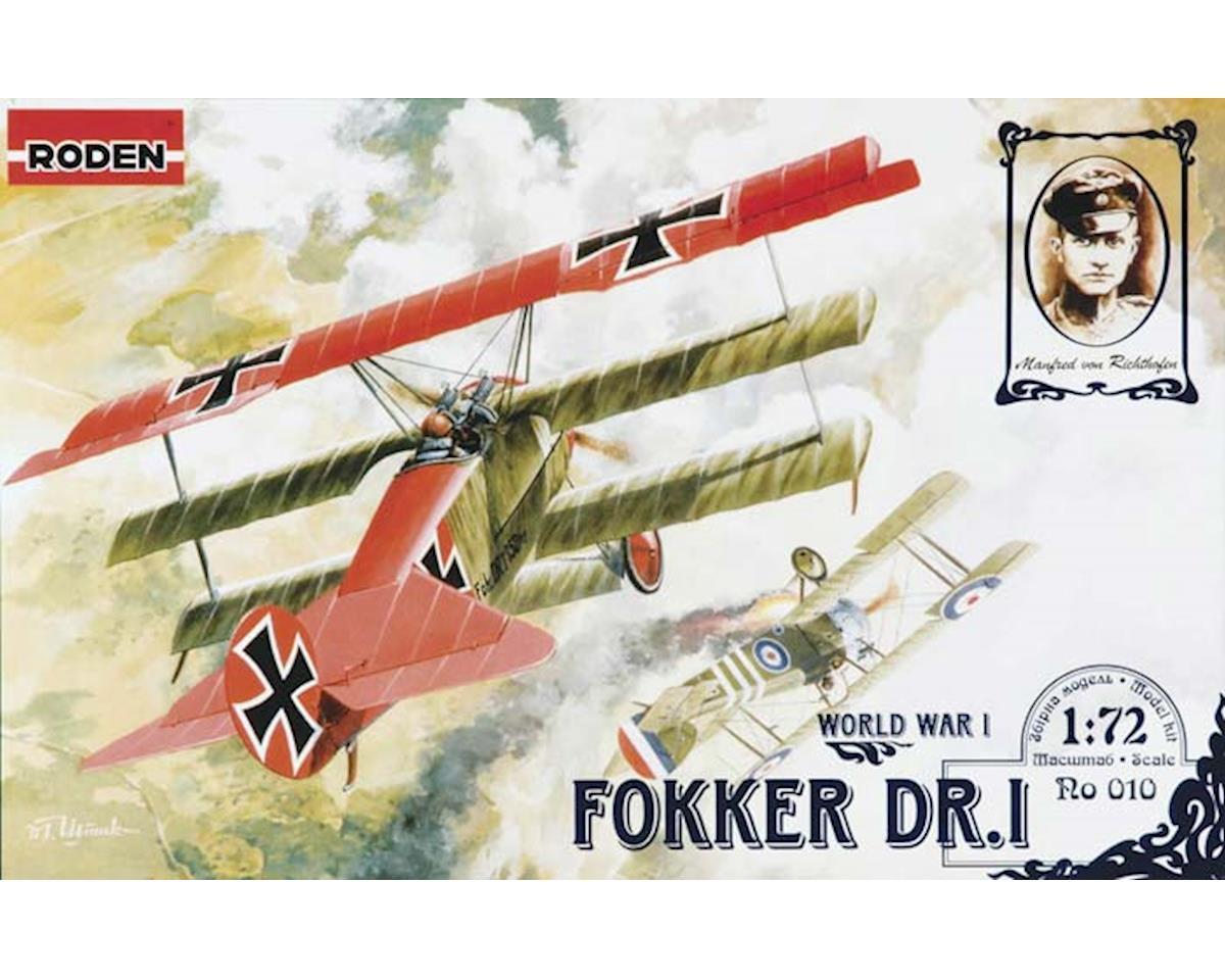 10 1/72 Fokker Dr.I Triplane by Roden