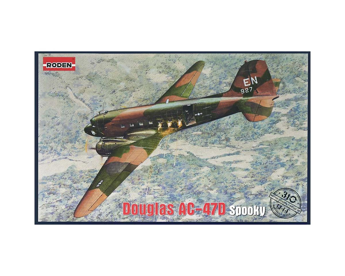 Roden 310 1/144 AC47D Spooky US Ground Attack Aircraft