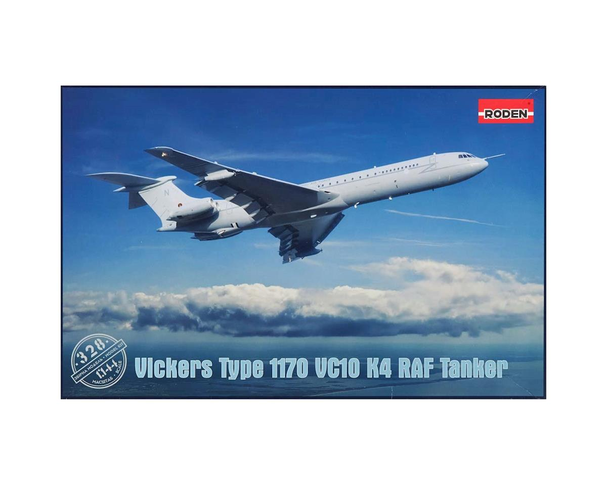 328 1/144 Vickers VC10 K4 Type 1170 Tanker Aircraft by Roden