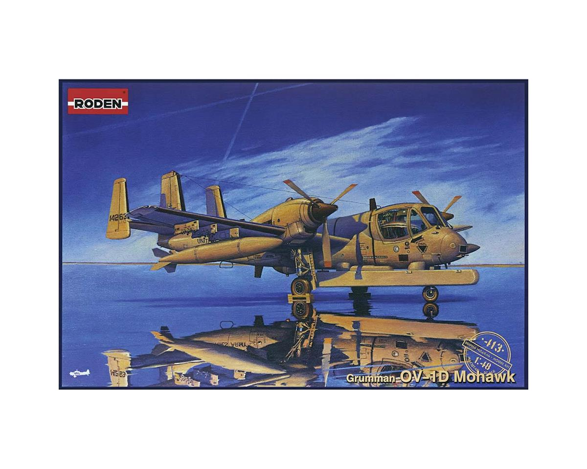 413 1/48 OV1D Mohawk Recon Multi-Purpose US Aircraft by Roden
