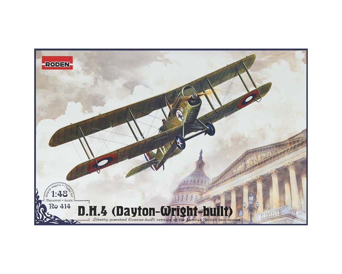 Roden 414 1/48 DeHailland DH4 Army Biplane Fighter