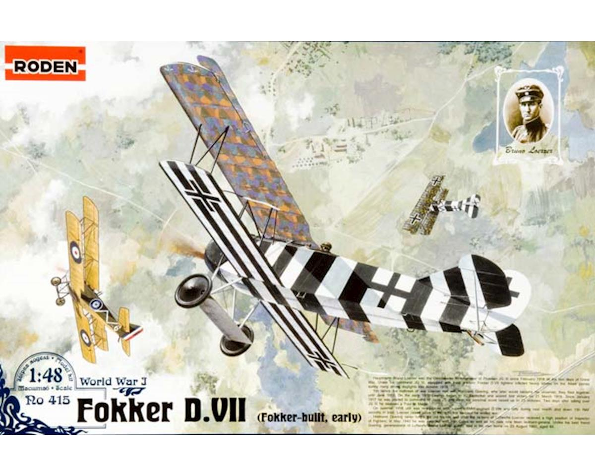 Roden 415 1/48 Fokker D.VII Early