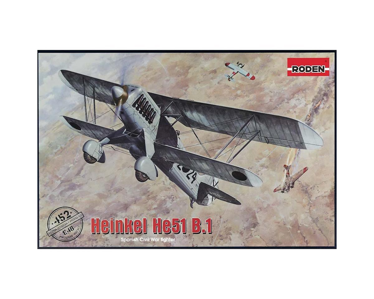 452 1/48 Heinkel He.51 B.1 by Roden
