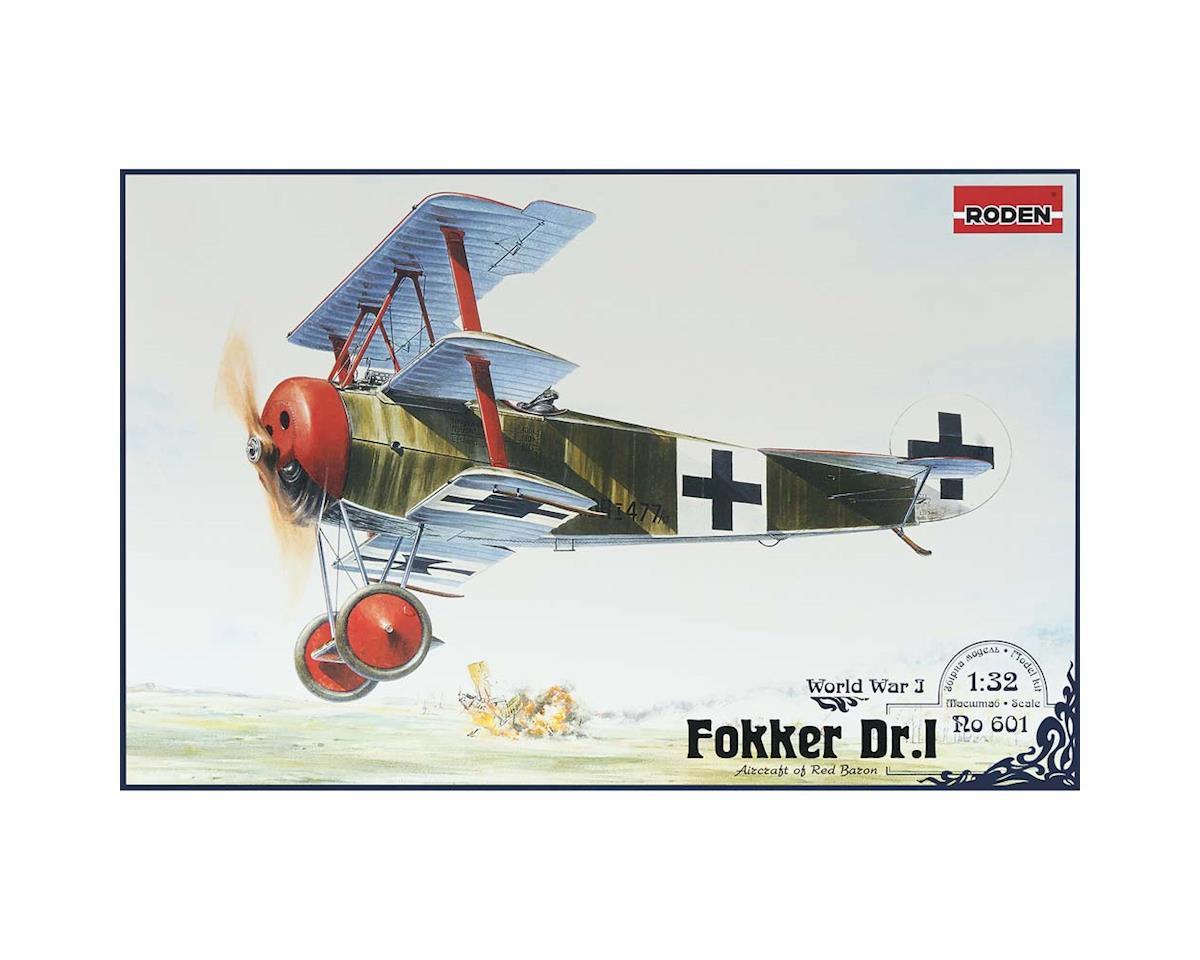 Roden 601 1/32 1/32 Fokker Dr I Red Baron WWI German Triplane
