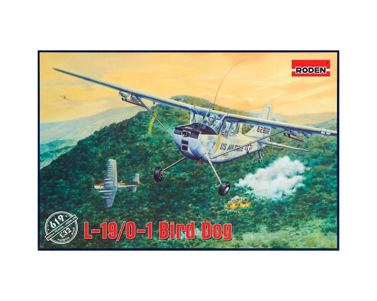 Roden 619 1/32 L19/O1 Bird Dog USAF Aircraft