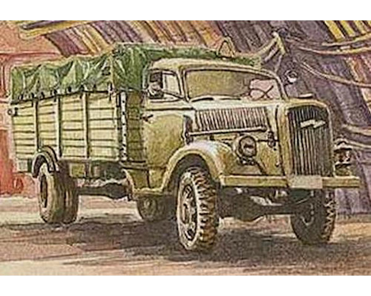 "713 1/72 WWI FWD Model B 3-Ton Army Truck w/8"" Howitzer by Roden"
