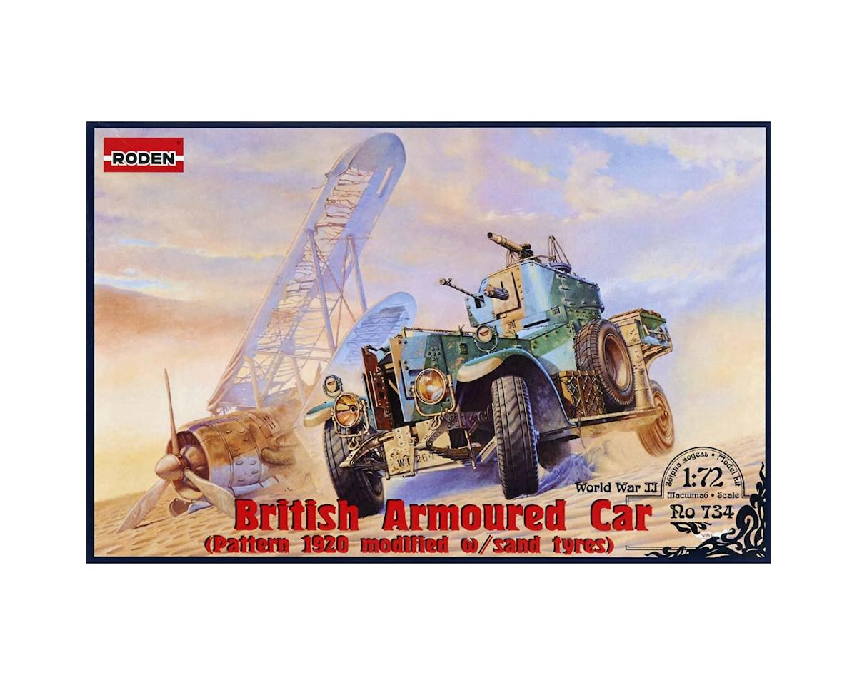 Roden 734 1/72 British Armoured Car Pattern 1920 Mk.II