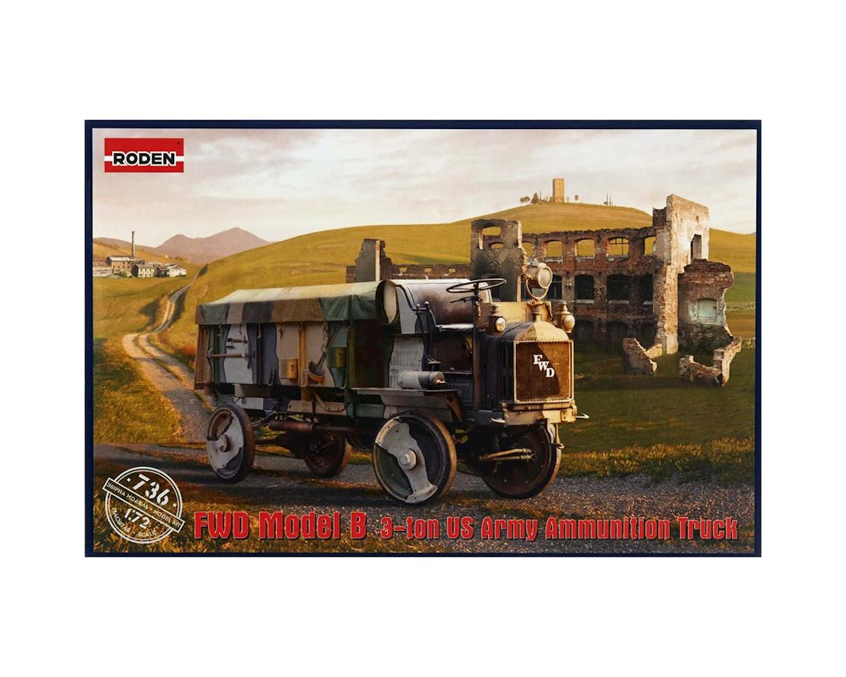 Roden 736 1/72 FWD Model B 3-Ton US Army Ammunition Truck