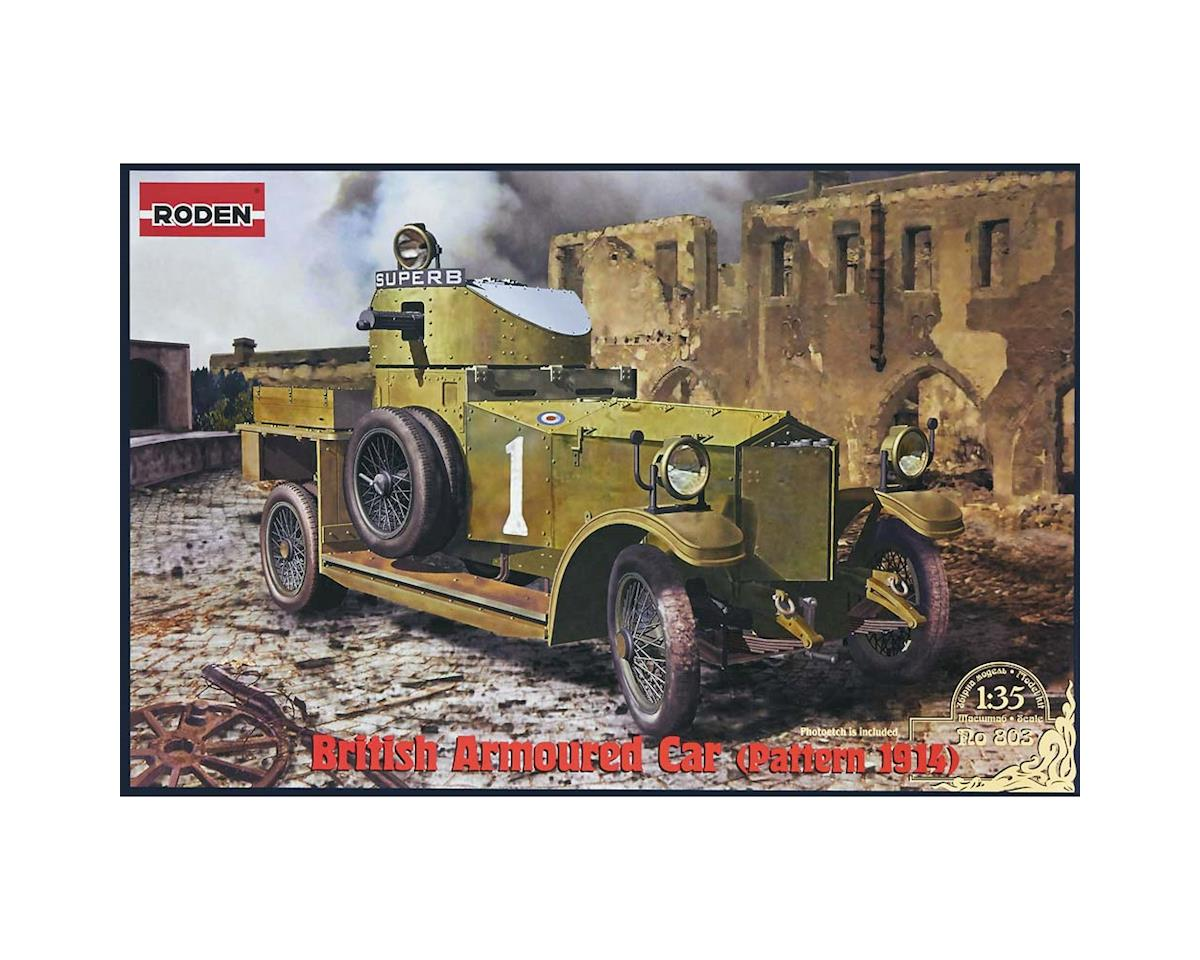 Roden 803 1/35 Pattern 1914 WWI British Armored Car