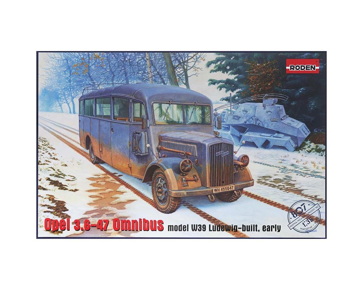 807 1/35 Opel Blitz 3.6-47 Model W39 Ludewig Early