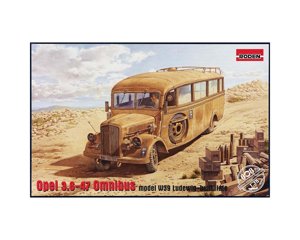 Roden 808 1/35 Opel Blitz Omnibus W39 Afrika Corps