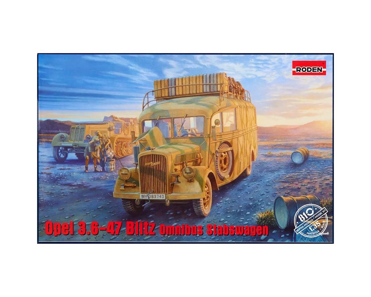 Roden 810 1/35 WWII Opel Blitz 3.6-47 Type W39 Stabswagen