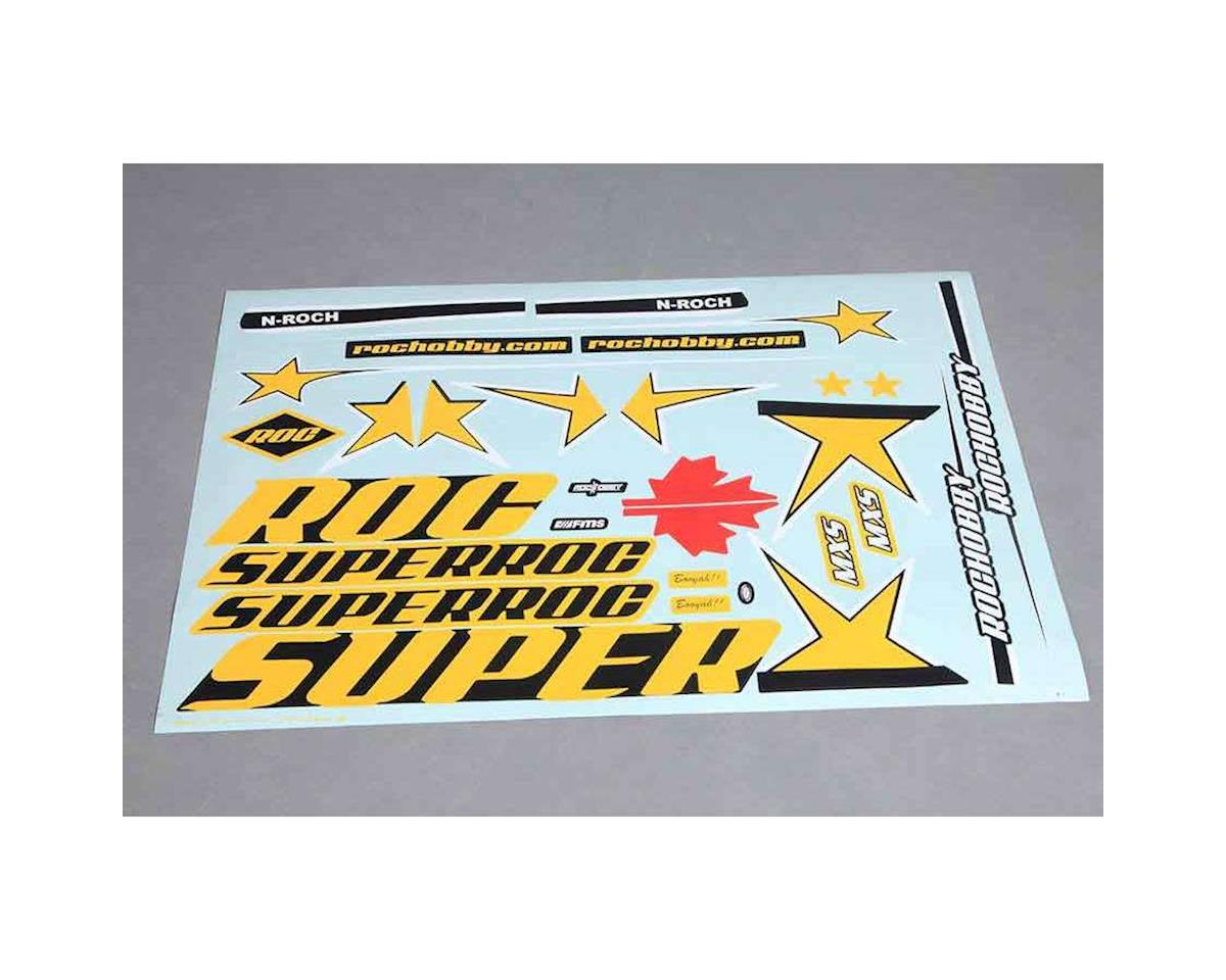 Decal Sheet: MXS 1100mm