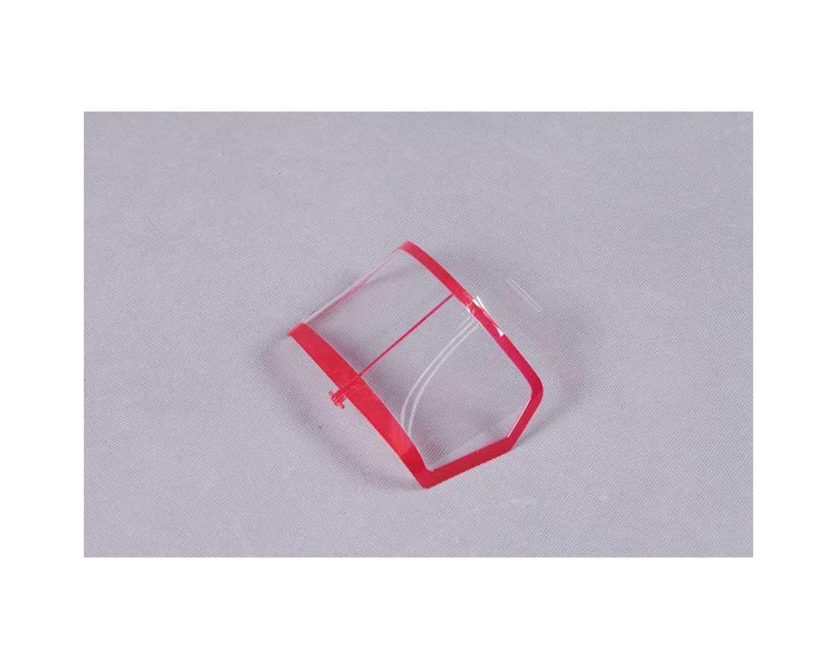RocHobby Windsheild, Red : Staggerwing