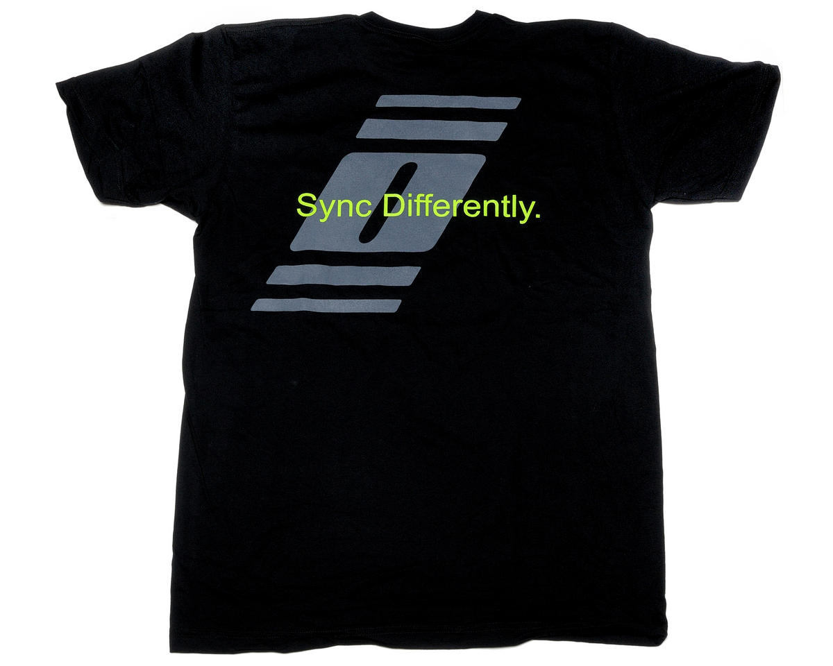 Radiopost Black T-Shirt (3X-Large)