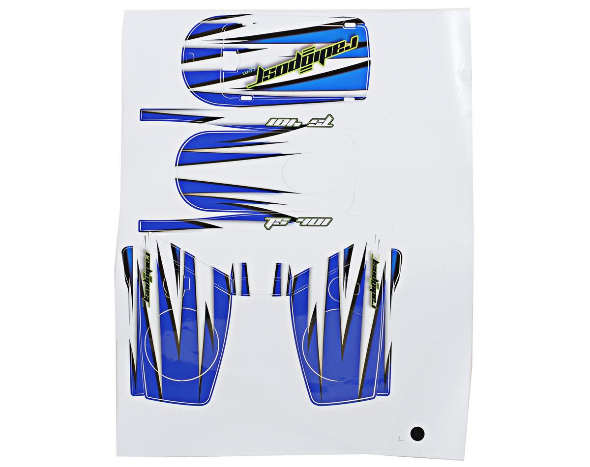Radiopost TS401 Radio Wrap (Blue)
