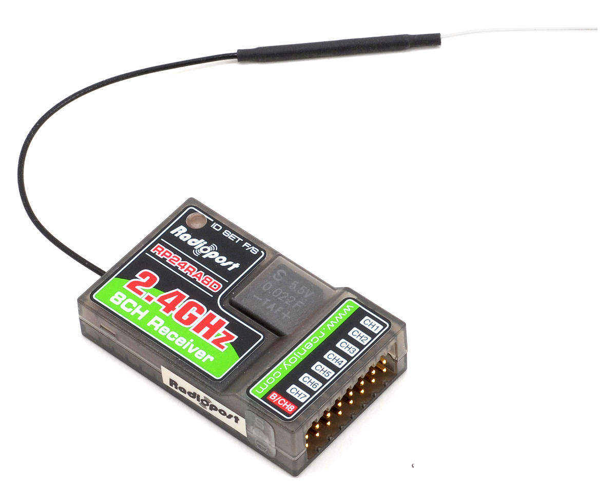 Radiopost 24RA8D 8 Channel Surface/Aircraft Receiver
