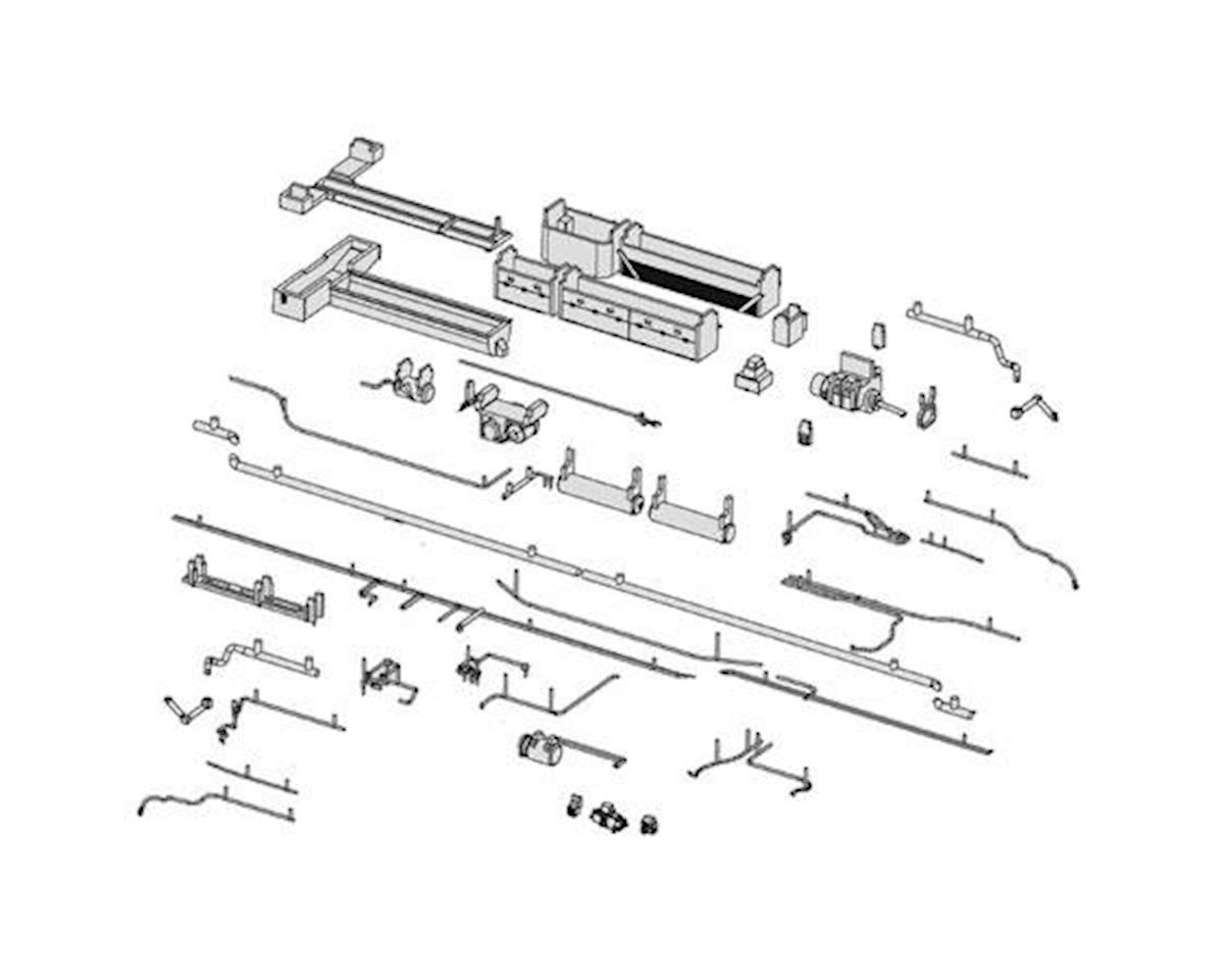Rapido Trains HO Lightweight Sleeper, Complete Underbody Details