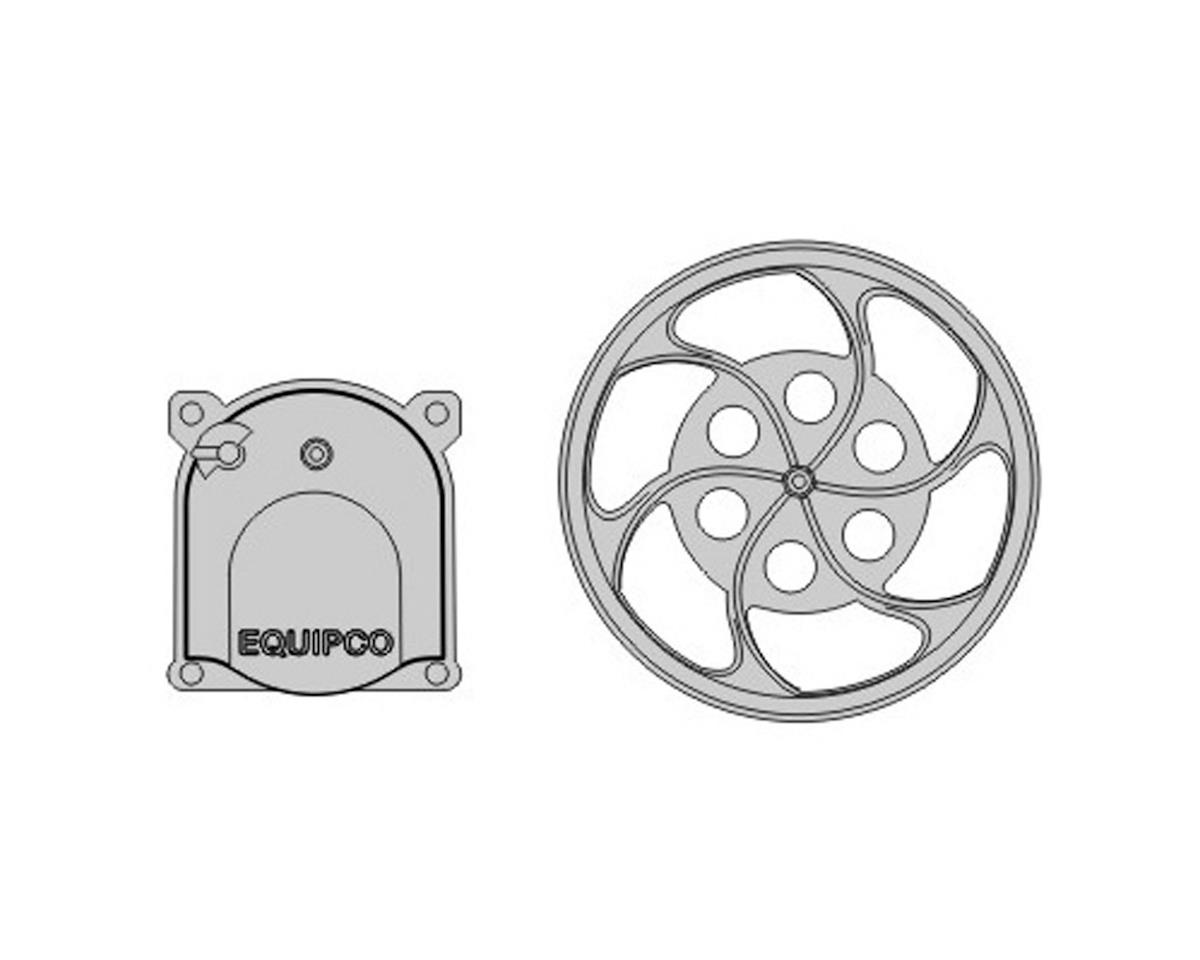 Rapido Trains HO Equipco Brake Wheel and Housing