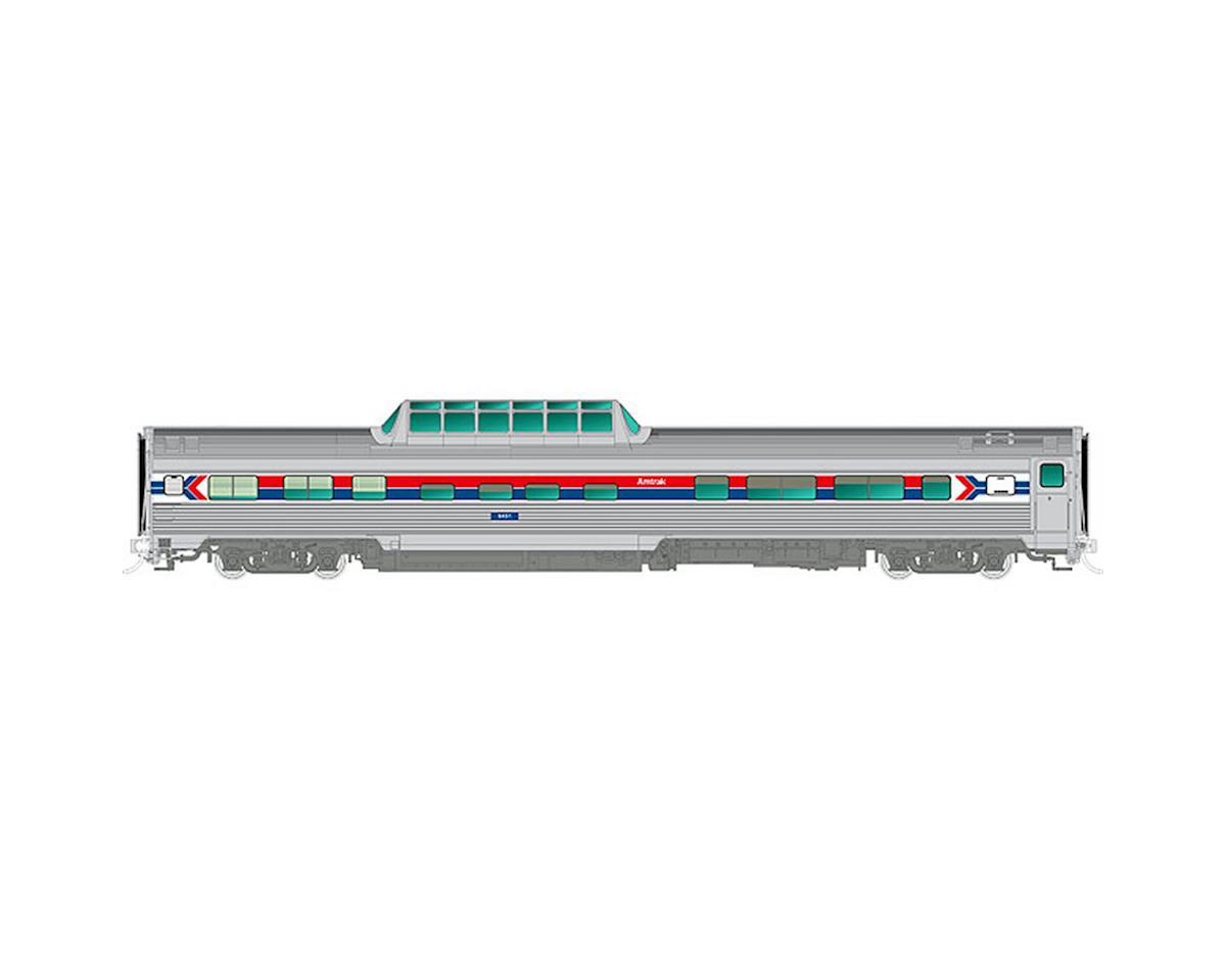 Rapido Trains HO Budd Dome, AMTK/Phase I #9560