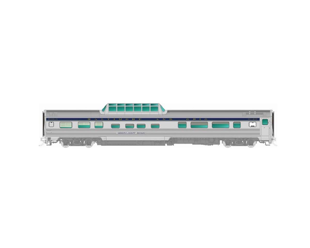 Rapido Trains HO Budd Dome, B&O/Sunlight