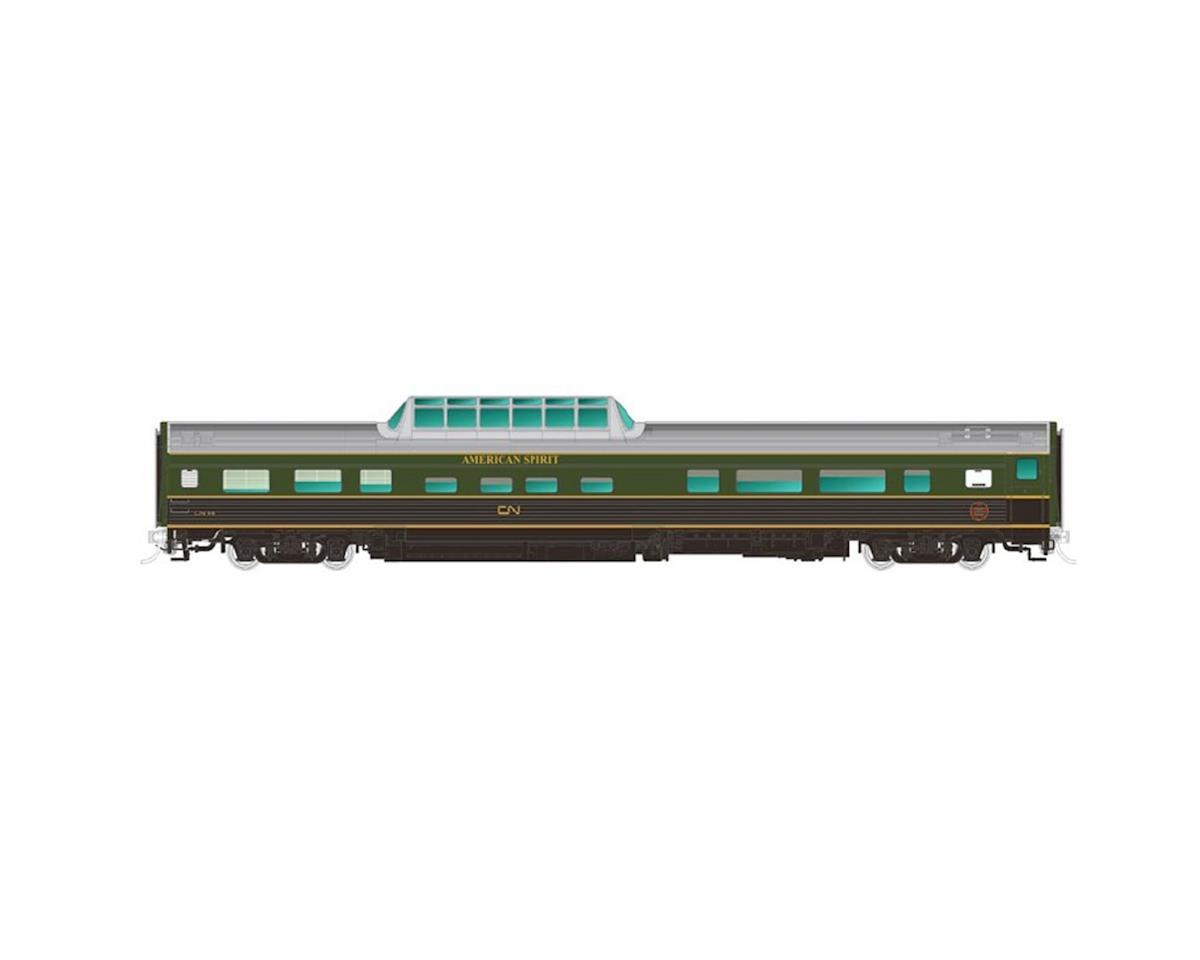 Rapido Trains HO Budd Dome, CN/CNR/American Spirit