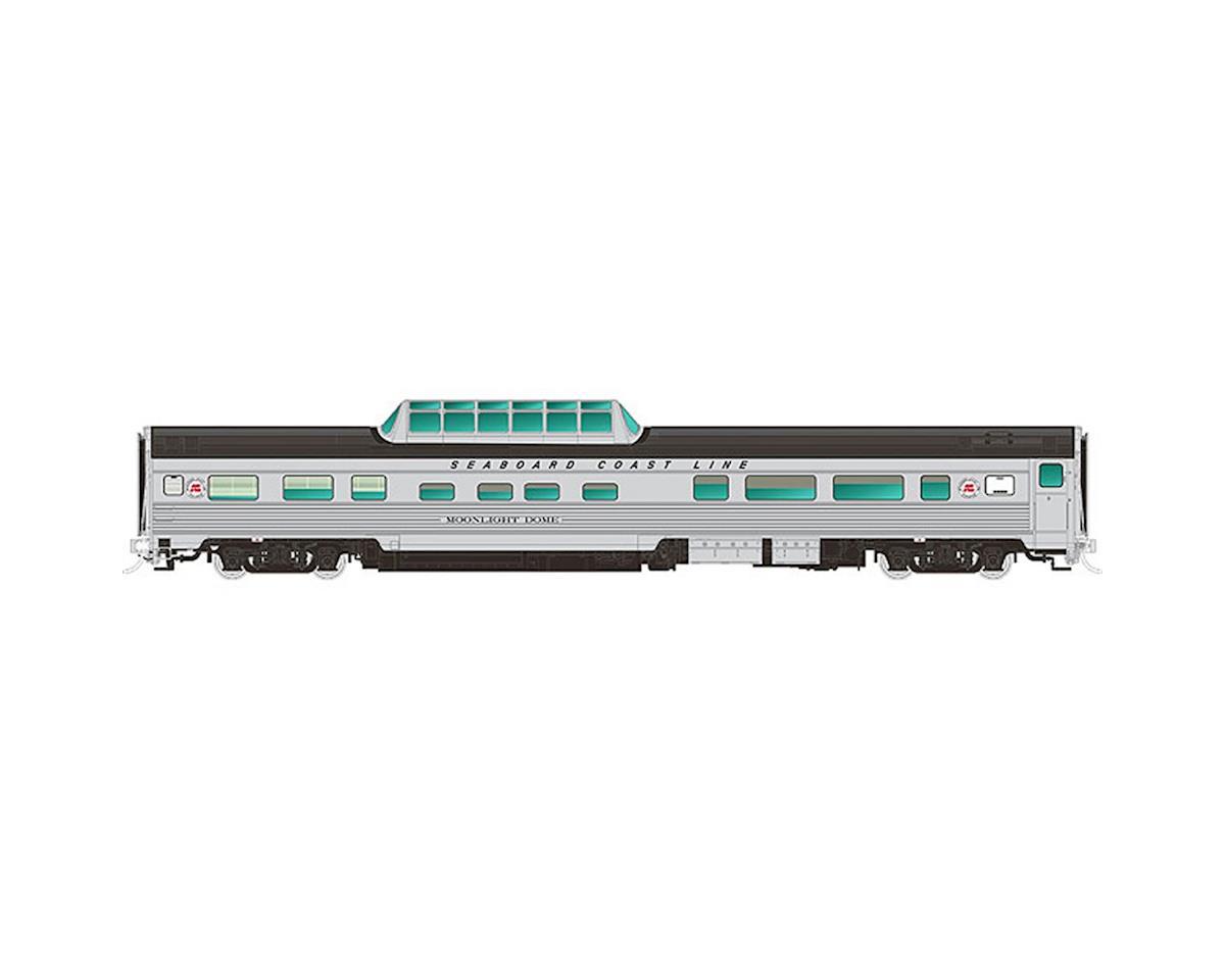 Rapido Trains HO Budd Dome, SCL/Starlight