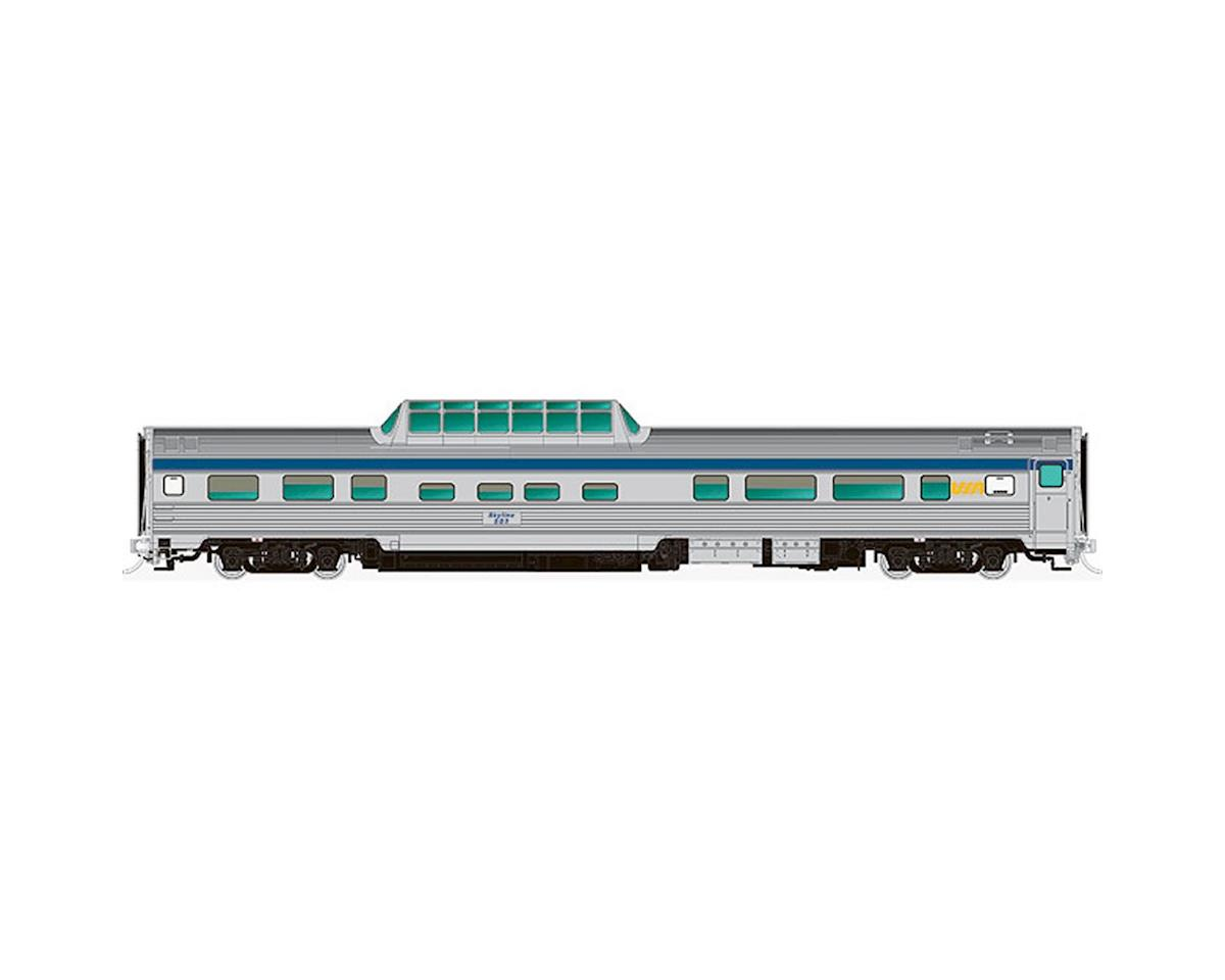 Rapido Trains HO Budd Dome, VIA/Original #505