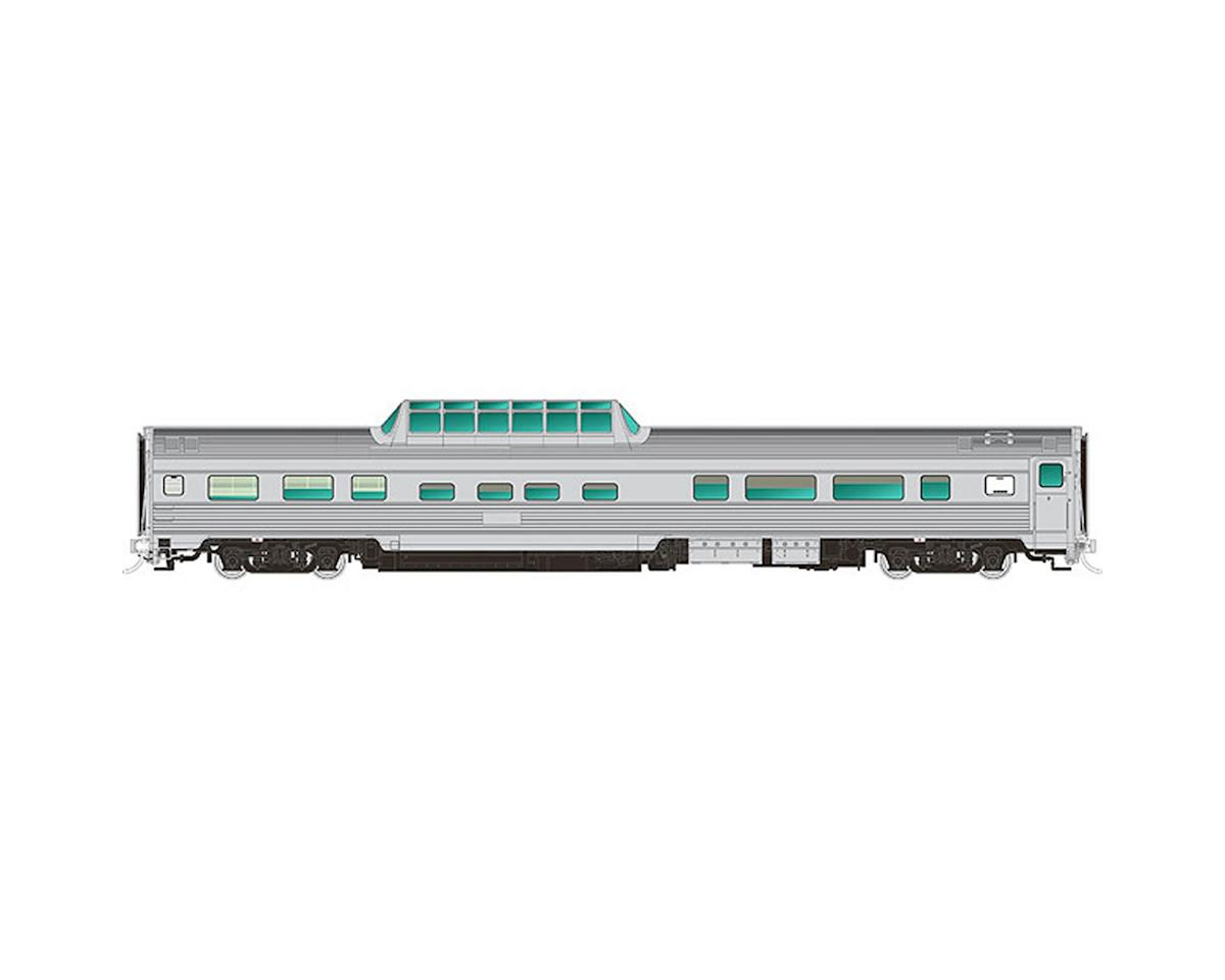 Rapido Trains HO Budd Dome, Unlettered/Stainless Steel Finish