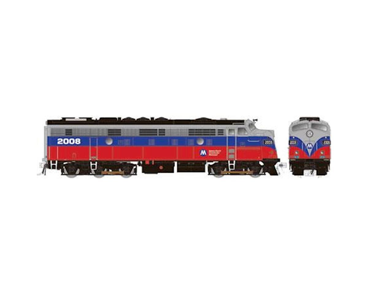 Rapido Trains HO FL9 Rebuilt, MTNTH/Red/Blue #2008