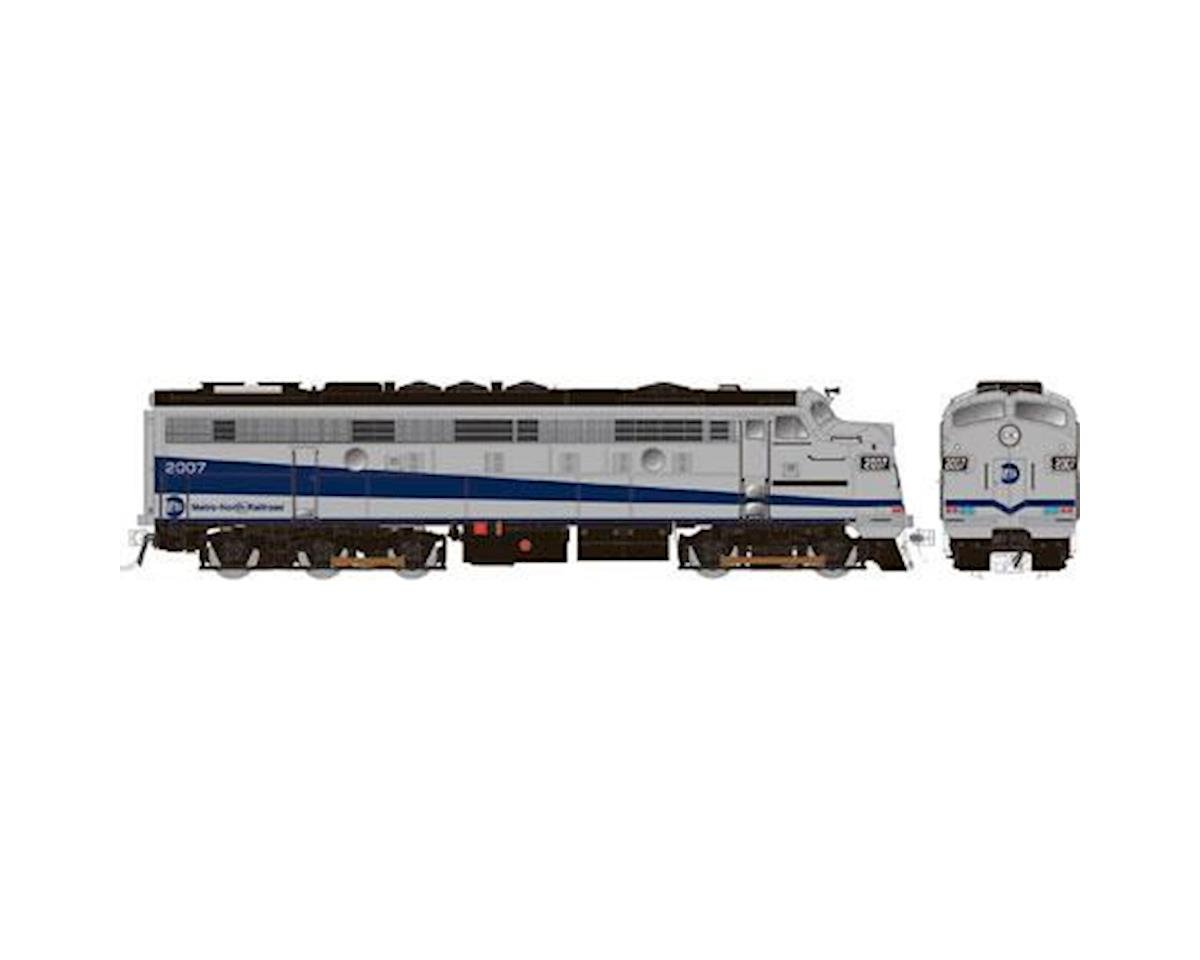 Rapido Trains HO FL9 Rebuilt, MTNTH/Silver/Blue #2007