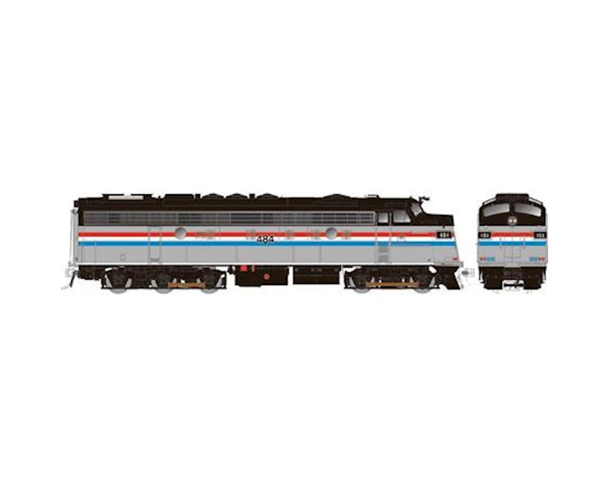 HO FL9 Rebuilt, AMTK #491 by Rapido Trains