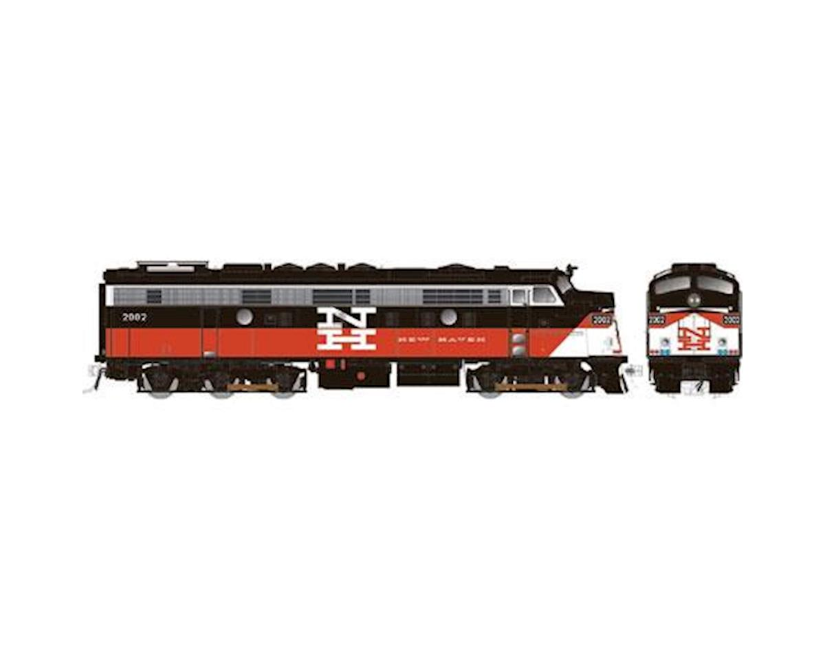 Rapido Trains HO FL9 w/DCC & Sound/Rebuilt, ConnDOT/NH #2019