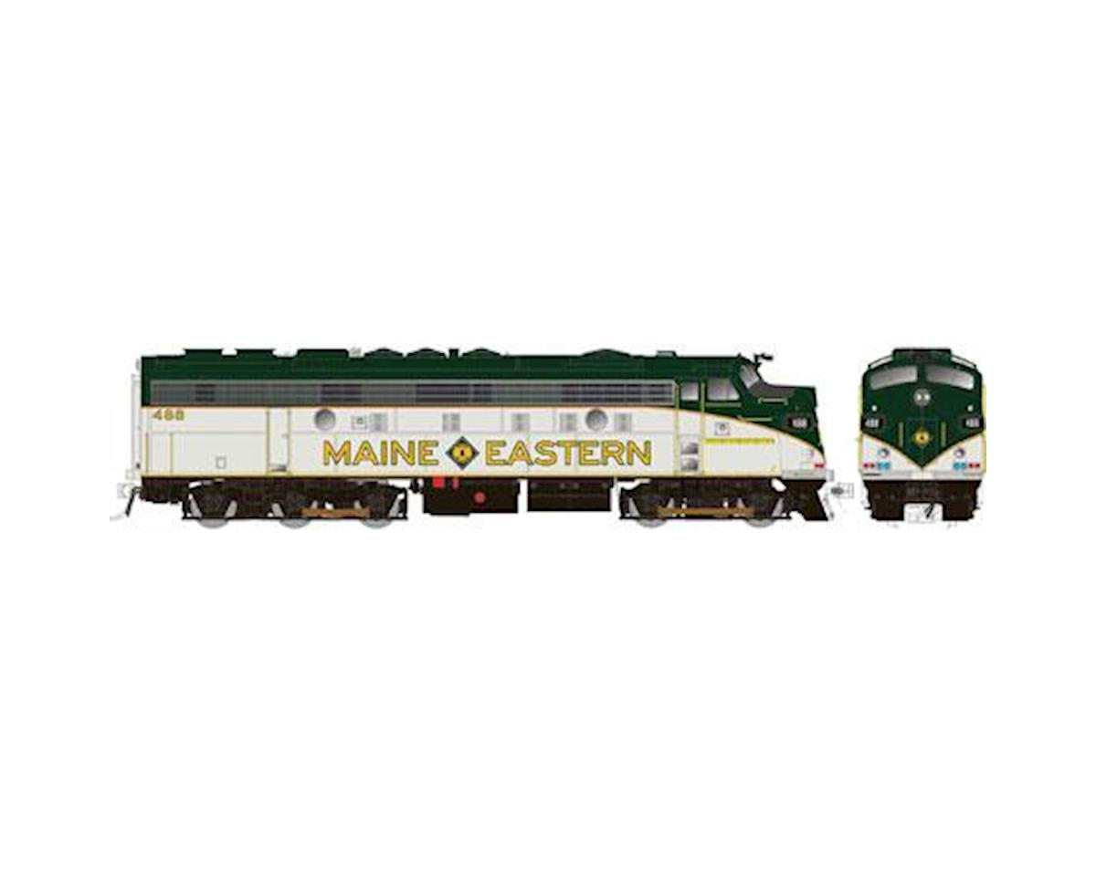 Rapido Trains HO FL9 w/DCC & Sound/Rebuilt, Maine Eastern #489