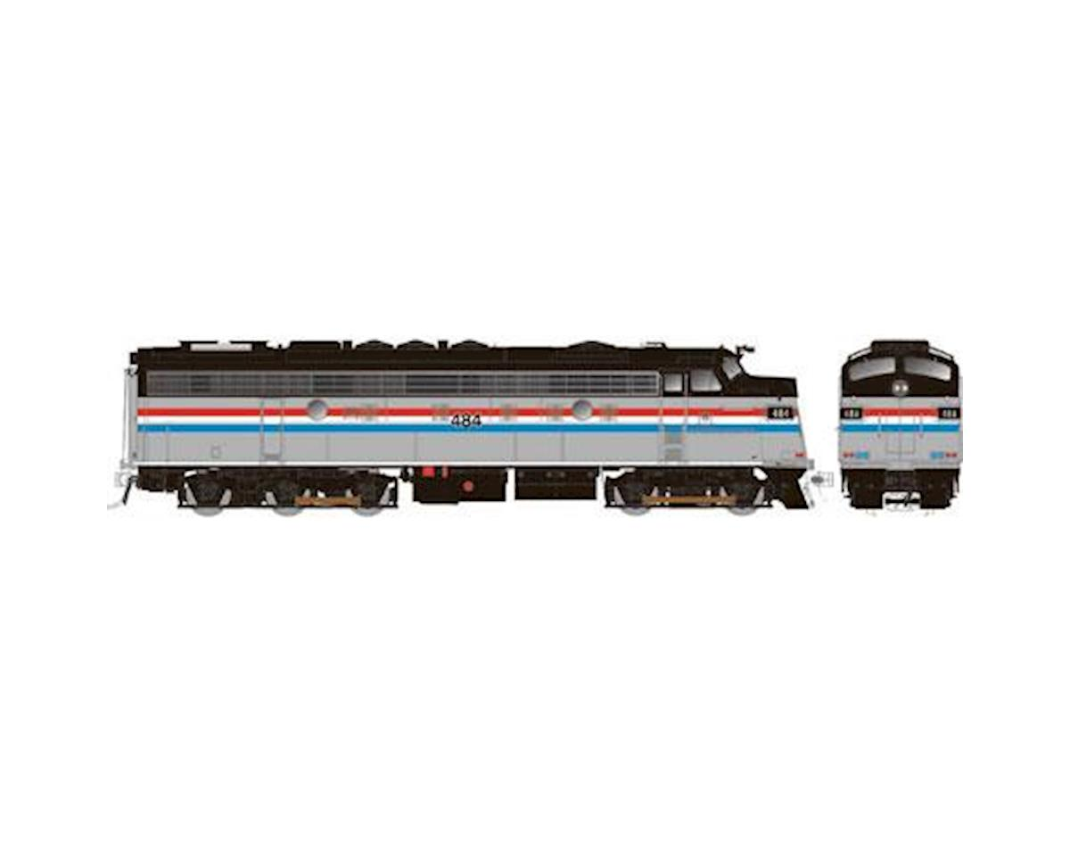 HO FL9 w/DCC & Sound/Rebuilt, AMTK #484 by Rapido Trains