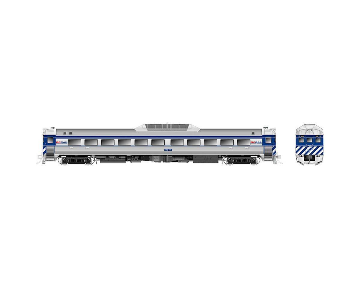 Rapido Trains HO Budd RDC1 Phase 2 w/DCC & Sound, BCR # BC-10