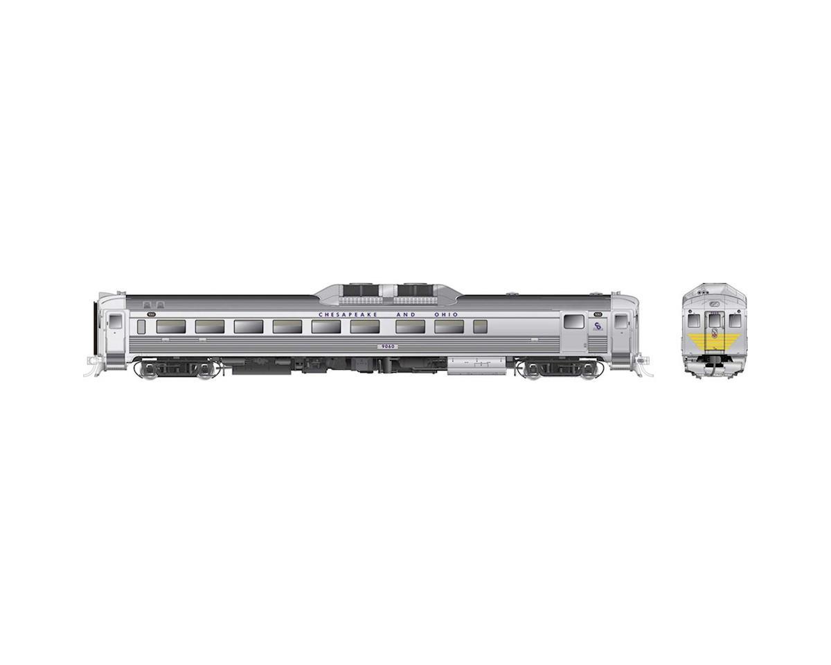 Rapido Trains HO Budd RDC2 Phase 1b w/DCC & Sound, C&O #9060