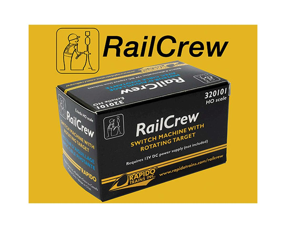 Rapido Trains RailCrew Switch Machine w/Operating Switch Stand