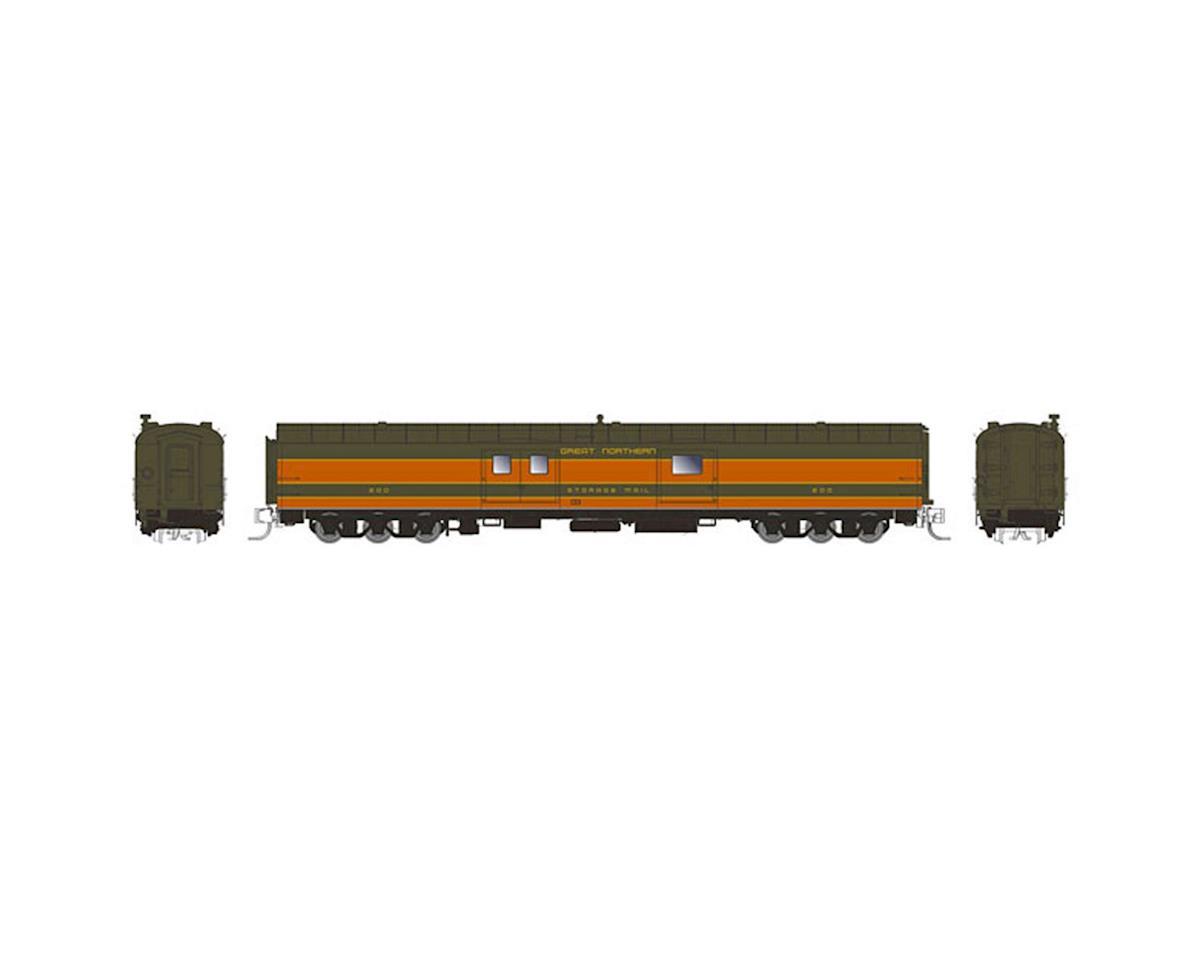 """Rapido Trains N 73'6"""" Baggage Car w/6-Wheel Trucks, GN #201"""