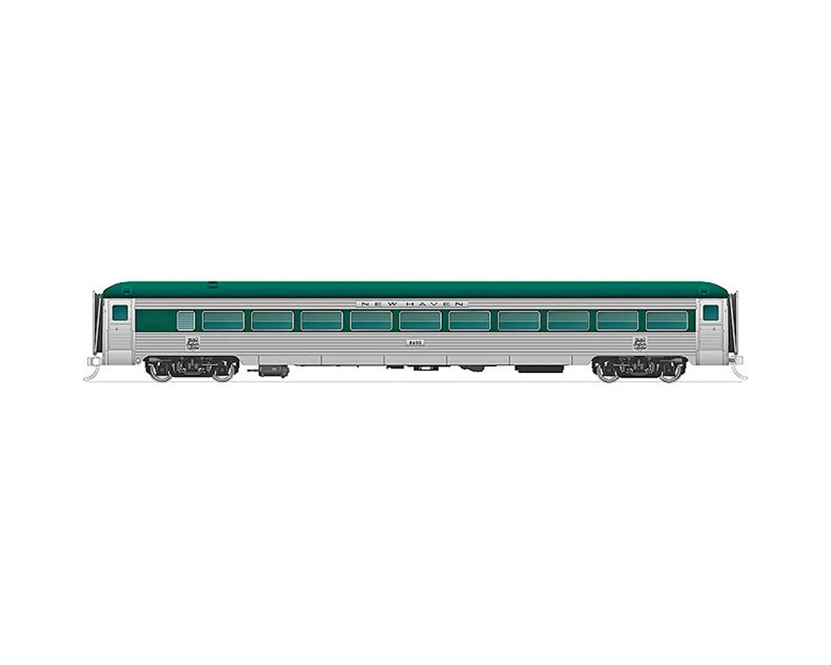 Rapido Trains N New Haven 8600-Series Coach, NH/Delivery #8600