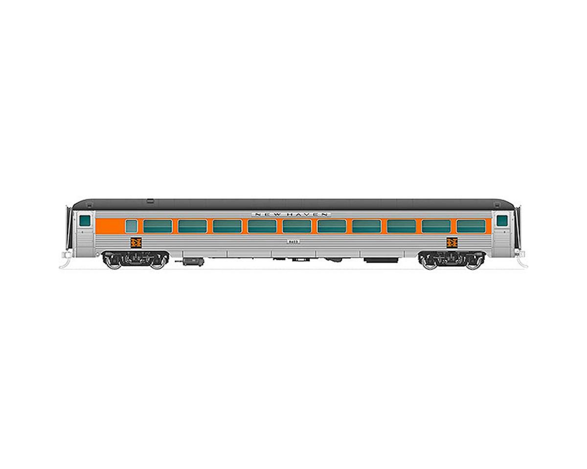 Rapido Trains N New Haven 8600-Series Coach, NH/Red Wdw #8613
