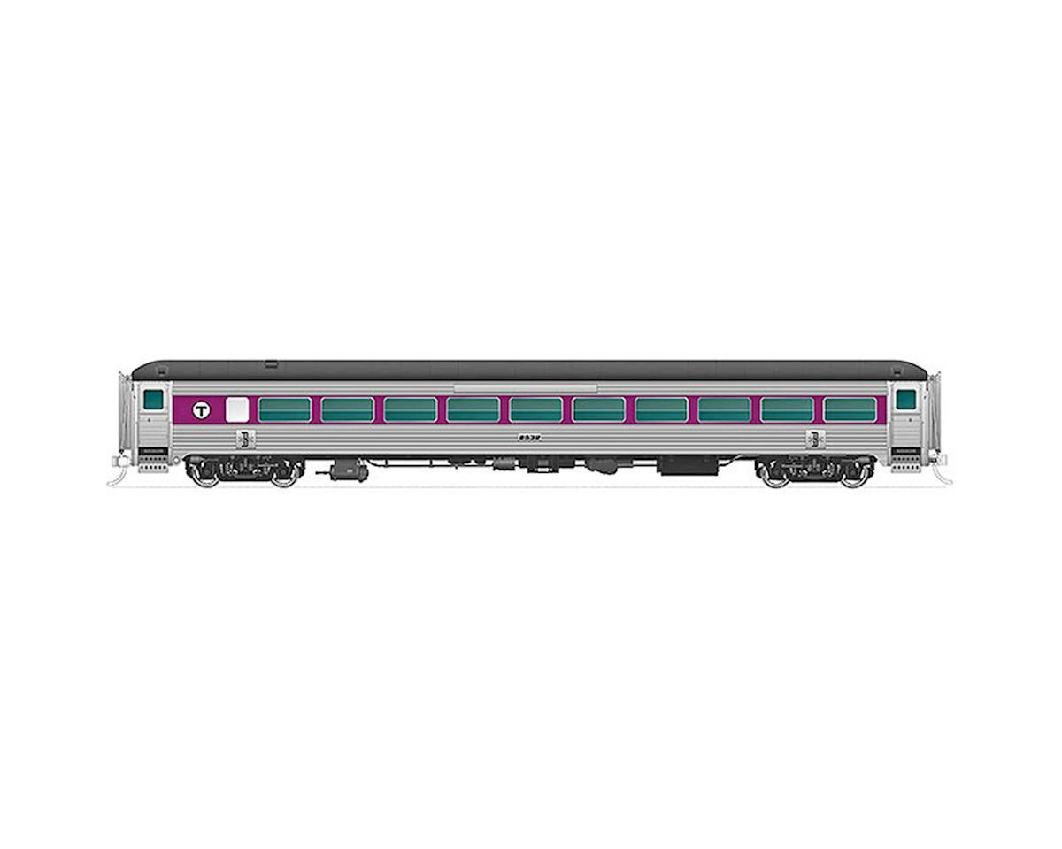 Rapido Trains N New Haven 8600-Series Coach,MBTA/PurpWBnd #2554