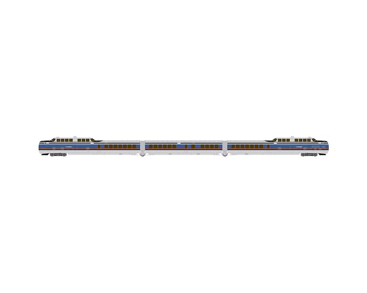 Rapido Trains N TurboTrain Set, PC/US DOT (3)