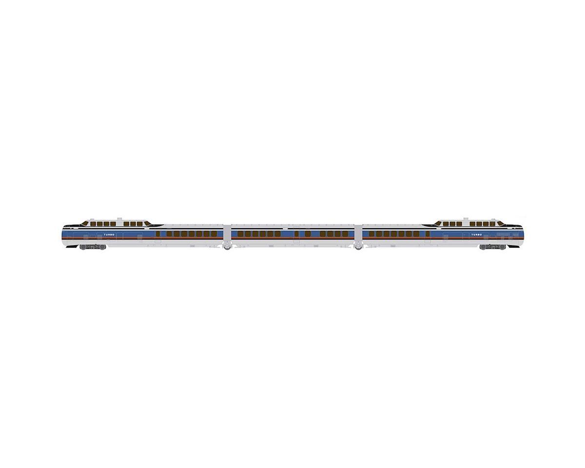 Rapido Trains N TurboTrain Set, PC/US DOT (3)