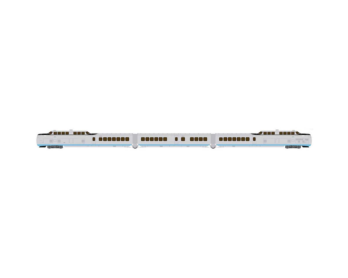 Rapido Trains N TurboTrain/DCC/SND Set,United Aircraft/US DOT(3)