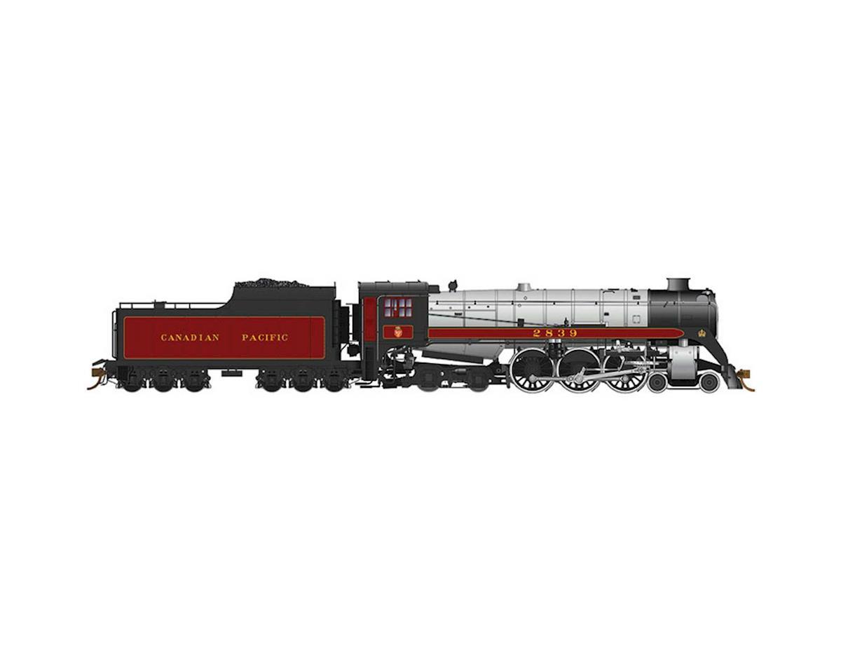 Rapido Trains HO Royal Hudson Class H1c, CPR #2839